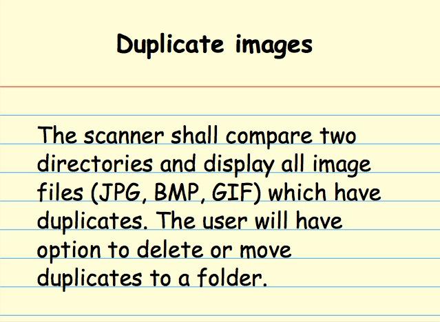Duplicate images